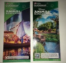 Walt Disney World Animal Kingdom Brochure guidemap Lot Of 2. Safari DC