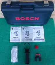 Nice Bosch Drill Case 3 Owner's Manuals Side Handle Battery Cover Safety Glasses