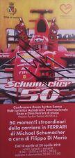 Mick Schumacher original signed Michael Schumacher 50 official brochure
