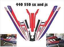 kawasaki 440 550 sx  js jet ski wrap graphics pwc stand up jetski decal kit PJS
