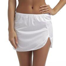 "Vanity Fair Daywear Solutions 360 White Half Slip Size Medium Length 14"""