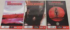 Marvel: Savage Wolverine (2013) #9-11 COMPLETE RUN