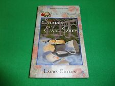 SHADES OF EARL GREY  BY  LAURA CHILDS (SMALL PAPERBACK BOOK)#