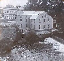 Slater Mill, First US Cotton Mill, Pawtucket, R.I., Magic Lantern Glass Slide