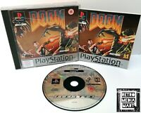 Doom ~ PlayStation PS1 Platinum Game ~ Retro FPS ~ PAL *Very Good Complete*