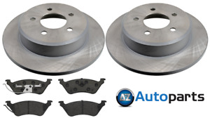 For Chrysler - Grand Voyager All Models 2001-2007 Rear Brake Discs and Pads