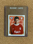 Steven+Gerrard+ROOKIE+1999+Merlin%E2%80%99s+Premier+League+Soccer+Sticker+Liverpool+MINT
