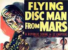 FLYING DISC MAN FROM MARS, 12 CHAPTER SERIAL, 1950