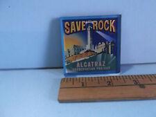 USA San Francisco Alcatraz Kühlschrankmagnet Magnet License Plate Style