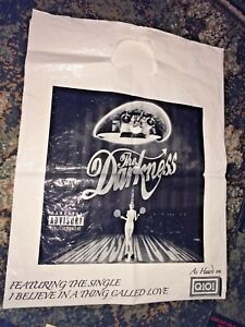 The Darkness -Permission to Land (2003) Promotional Shopping Bag(album art)