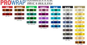 ProWrap Metallic Rod Winding Thread - Size A (100 Yds)