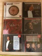 6 DIFFERENT  OPERA CD'S VERDI, HAMPSON,LIEDER,DOMINGO,NORMAN,ROMANTICS ALL NEW