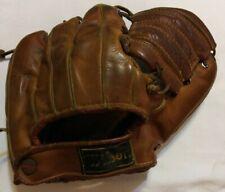 Vintage 1947 Wilson A2115 Ted Williams Ball Hawk 3 Finger Baseball Glove