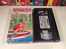 Bushwacked Political Comedy VHS 1992 Jim Morris George H.W. Bush Satire