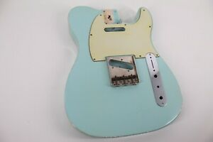 MJT Official Custom Vintage Age Nitro Guitar Body By Mark Jenny VTT Sonic Blue