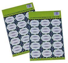 Spice Cloud Organizing Marking Labels Kitchen Decorative DIY Crafts Stickers