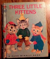 Three Little Kittens Vtg. Rand McNally Book