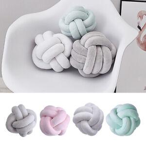 Creative Knot Ball Cushion Sofa Pillow Chair Back Cushion Throw Pillow