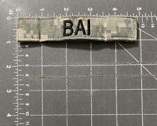 US Army Digital Camouflage Uniform Bai Name Tag Patch Strip Tape Badge Tab