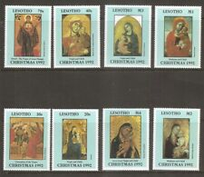 Lesotho SC # 927-934 Virgin And Child Paintings ( Madonna ) .MNH