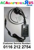 UK Plug 24V 1A 1000mA Desktop AC-DC Switching Adaptor Power Supply 6.3mm x 3.0mm