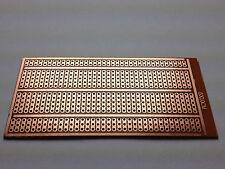 Lochrasterplatine 100x50 mm | Punktstreifen | RM 2,54 | Einseitig | Hartpapier