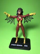 "Marvel Universe Spider Woman 3.75"" Loose Action Figure 006 2009 Spider-Man"