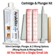 Araldite 2015 Toughened Epoxy Gel Kit (SMC, GRP, Fiberglass)-50ml + Hand Plunger
