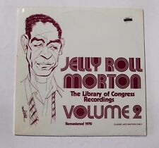 JELLY ROLL MORTON Library Of Congress Recordings Vol. 2 CJM-3 SW 1970 SEALED 3A