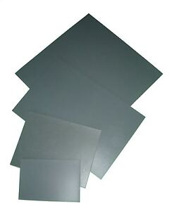 EXTRA SOFT GREY POLYMER LINO TILES 3mm THICK BLOCK PRINTING BOARD VARIOUS SIZES