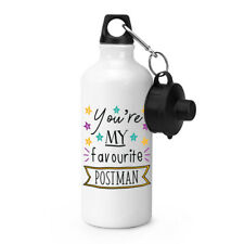 You're My Favourite Postman Stars Sports Water Bottle Funny Best Postie Camping