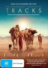Tracks DVD AUSTRALIAN BIOGRAPHY TRUE STORY 1700 MILES Desert Camels BRAND NEW R4