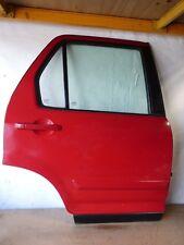 HONDA CRV CR-V 02-06  OFFSIDE REAR DRIVER OSR DOOR BRIGHT RED