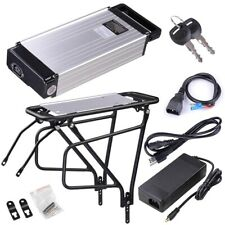 36V 1000W Lipolymer Battery Lithium Electric Bicycle Back Rack Scooter Bike Kit