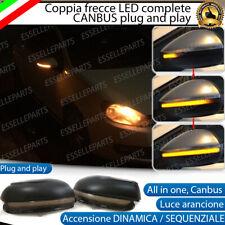 COPPIA FRECCE SPECCHIETTI LED DINAMICHE PROGRESSIVE SEQUENZIALI VW GOLF 6 VI