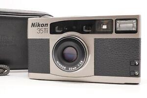 [MINT w/ Case] Nikon 35Ti Point & Shoot Film Camera 35mm f/2.8 From Japan