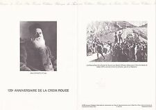 Document Philatélique Timbre 1er Jour : 19/11/ 1988 - Croix Rouge Anniversaire