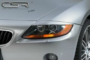 BMW Z4 E85 & E86 HEADLIGHT BROWS EYEBROWS EYELIDS MASKS 2002 - 2008