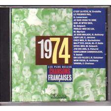 CD Les plus belles chansons françaises 1974 Nicole CROISILLE - Gérard LENORMAN N