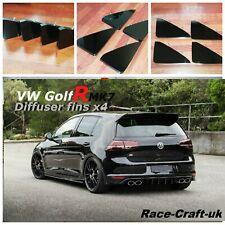 VW Golf R diffuser fins/Golf R MK7 diffuser/Volkswagen Golf R/ Golf R diffuser