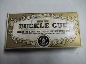 Mattel 1958  Shootin' Shell Buckle Gun New In Box Complete