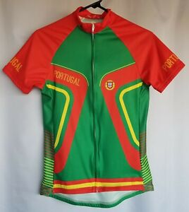Scudo Woman's Cycling Jersey Medium Portugal Europe Full Zip