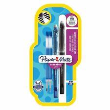 Paper Mate Erasable Gel Pen Medium Assorted  & 2 Refills