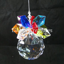 Ganz Crystal Expressions Jewel With Starburst on Top Sun Catcher Ornament