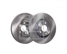 2x Bremsscheibe für Bremsanlage Vorderachse FEBI BILSTEIN 24384