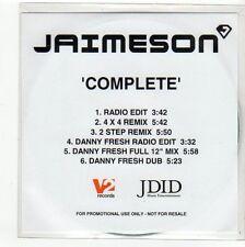 (FC436) Jaimeson, Complete - DJ CD
