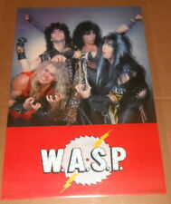 WASP 1994 Poster 34x22 Funky RARE