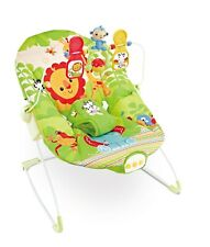 Animal Kingdom Baby Rocker Bouncer Chair With Soothing Music & Vibrations