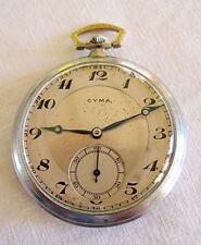 montre gousset  CYMA n° 01397-713, style ART DECO