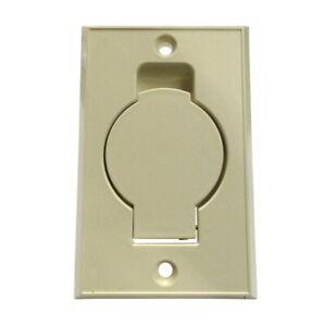 Central Vacuum Wall Hose Inlet Almond Beige for EUREKA - NEW